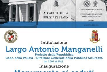 Vasto onora la Polizia di Stato nel ricordo di Antonio Manganelli