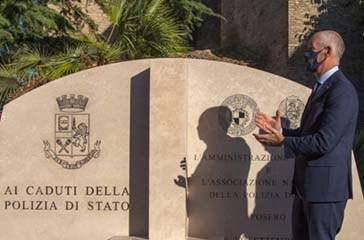 Vasto, intitolato largo Antonio Manganelli. Gabrielli: