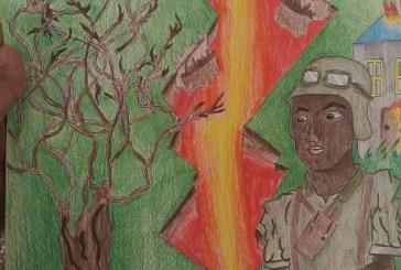 Gaia Di Biase vince il Concorso Un Poster per la Pace