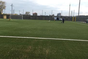 Conclusi i lavori del campo di calcio di Vasto Marina