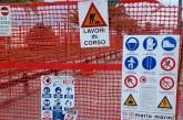 Alvia i lavori del raddoppio delle acque bianche a Vasto Marina