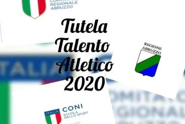 Tutela del talento Atletico 2020-CONI Abruzzo, la vastese Margherita Cerritelli premiata tra i 16 talenti abruzzesi di varie discipline