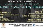 Per il Giorno della Memoria evento online della Consulta giovanile
