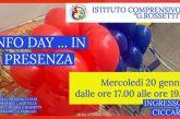 Info day in presenza all'Istituto Comprensivo Rossetti di Vasto