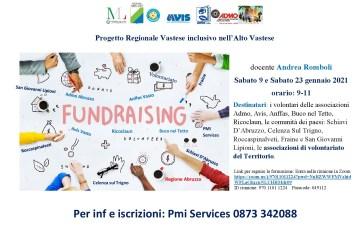 Progetto Regionale Vastese inclusivo: sabato 9 e 23 attività formativa sul Fundraising
