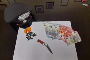 Detenzione di cocaina ai fini di spaccio, arrestato un 23enne a San Salvo