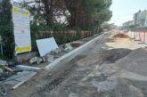 San Salvo, nuovi marciapiedi e asfalti in via Trignina