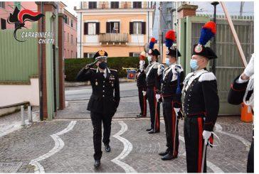 Il Generale Mezzavilla in visita al Comando Legione Carabinieri Abruzzo e Molise