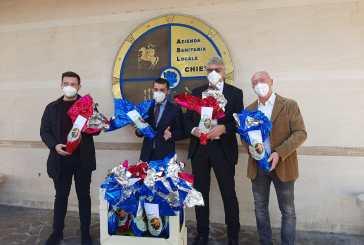 Opes Abruzzo dona le uova di Pasqua ai malati di Covid-19