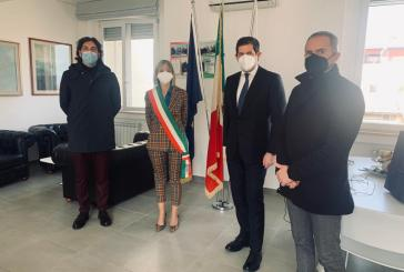L'assessore regionale Quaresimale in visita al Comune di San Salvo, Magnacca: