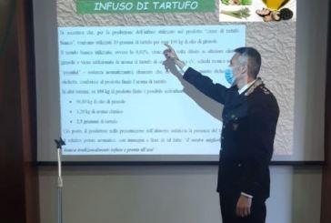 Nove imprenditori denunciati nell'inchiesta sui tartufi aromatizzati