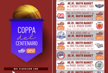 Basket, ecco il calendario della Coppa Centenario