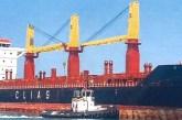 Hazar, la nave da 175 metri al Porto di Vasto