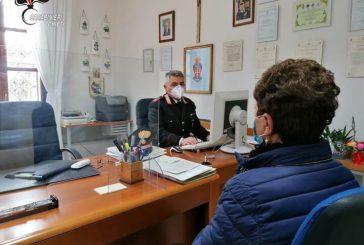 I Carabinieri della provincia di Chieti in aiuto degli anziani nella prenotazione online dei vaccini