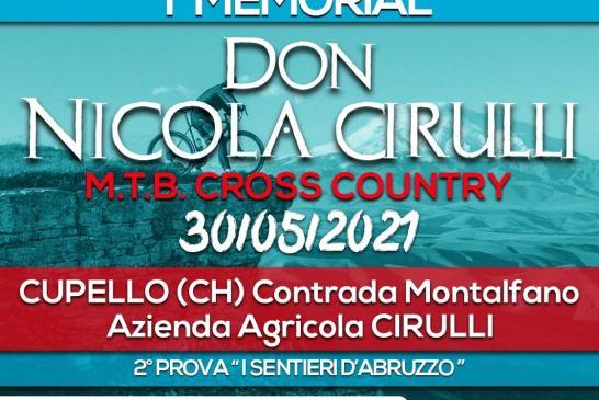 Memorial Don Nicola Cirulli 30052021 locandina