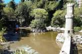 Alla Villa Comunale di Vasto in corso i lavori di pulizia del laghetto