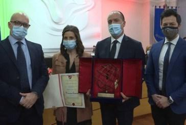 La molisana Francesca Colavita, ricercatrice dello Spallanzani, premiata per l'impegno contro la pandemia