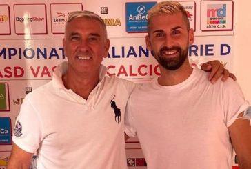 Vastese Calcio, terza stagione di fila di Nicolas Di Filippo