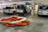 Incendi boschivi, ieri la consegna alla Protezione civile di Vasto una vasca mobile per l'acqua