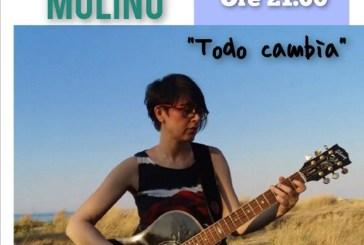 """La cantautrice Lara Molino torna nella sua città col suo nuovo spettacolo """"Todo cambia"""""""