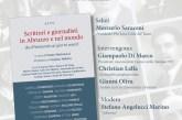 """Alle 21,30 la presentazione libro """"Scrittori e giornalisti in Abruzzo e nel mondo"""""""
