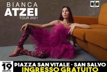 San Salvo, verso il tutto esaurito il concerto gratuito di Bianca Atzei