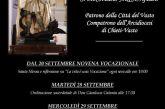 Vasto, dal 20 settembre la Novena Vocazionale in onore dell'Arcangelo Michele