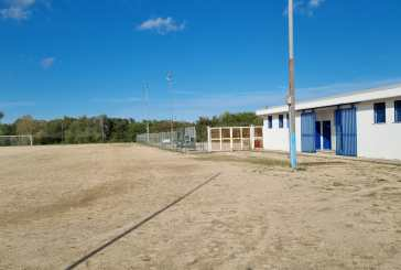 Lavori di riqualificazione allo stadio di Villa Scorciosa a Fossacesia