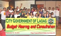 Laoag City Sets 2011 Budget