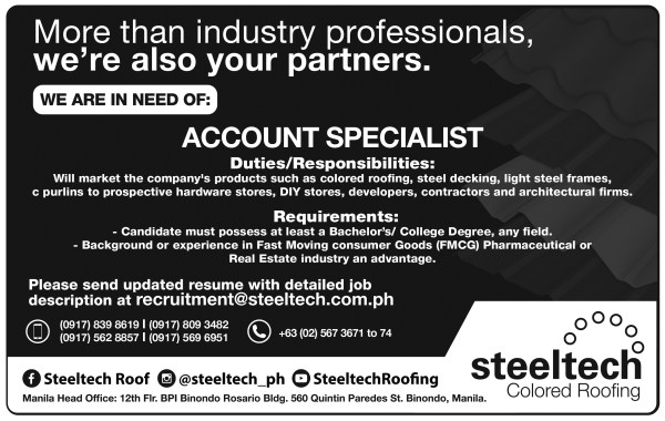 JOB VACANCY PRINT AD_Ilocos Sentinel_8in x 5in_rev02