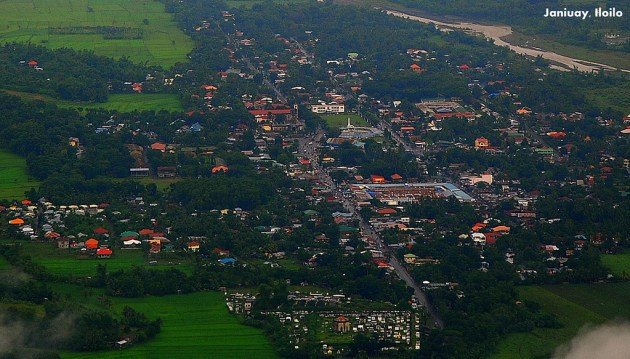 Aerial View of Janiuay, Iloilo