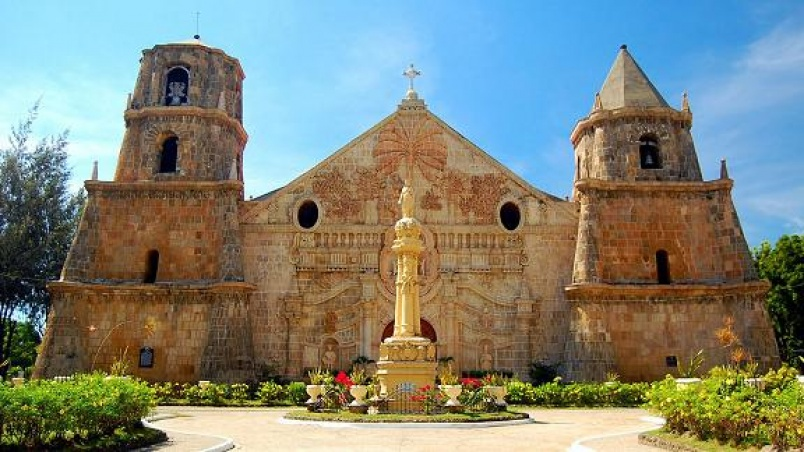 "The Miag-ao Church, or Church of Santo Tomas de Villanueva, was built in 1786 by Spanish Augustinian missionaries and was declared as part of the UNESCO World Heritage Site ""Baroque Churches of the Philippines"" in 1993."