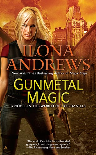 Book Cover: GUNMETAL MAGIC