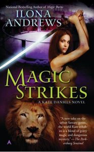 Book Cover: MAGIC STRIKES