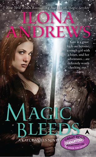 Book Cover: MAGIC BLEEDS