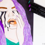 markers 4 billie eilish