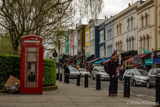 bezienswaardigheden in Londen 12 Notting hill telefooncel