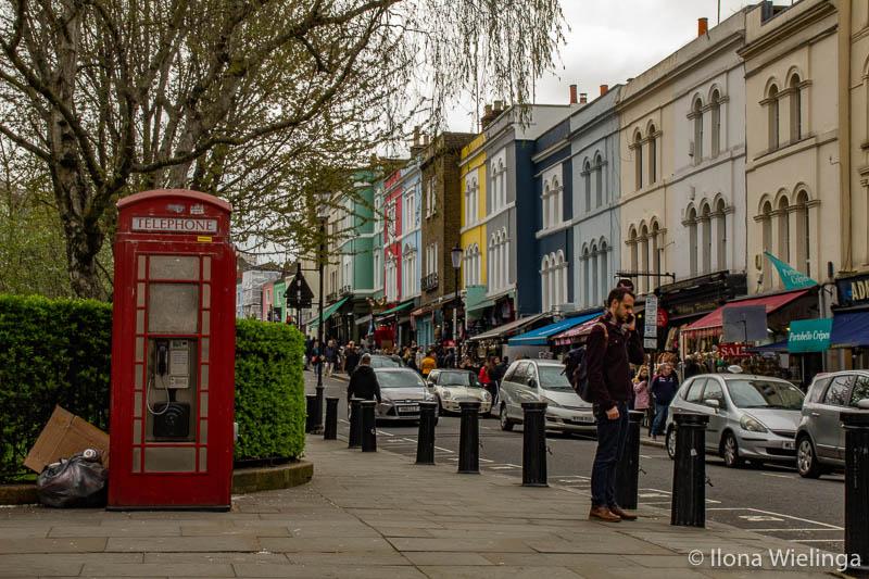 Londen 12 Notting hill telefooncel