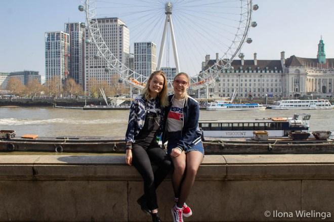 Londen 3 Londen eye uitzicht