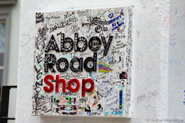 Londen 9 abbey road shop
