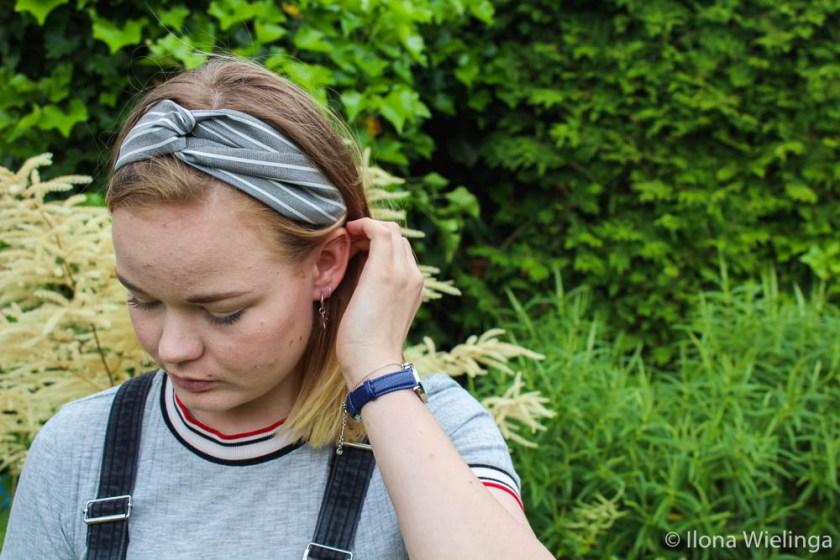 myjewellery 3 haarband horloge armbandje