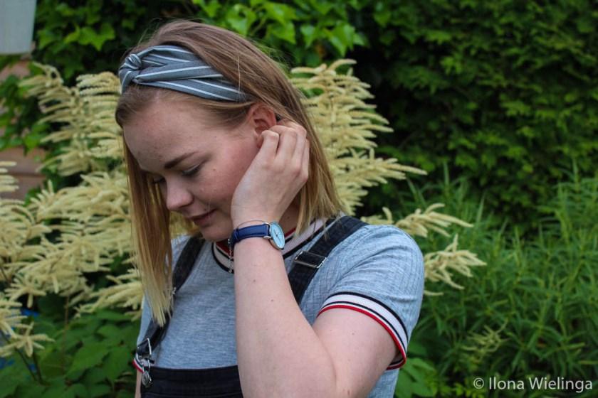 My jewerelly haarband en horloge