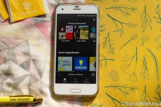 sim only 2 telefoon spotify favorieten