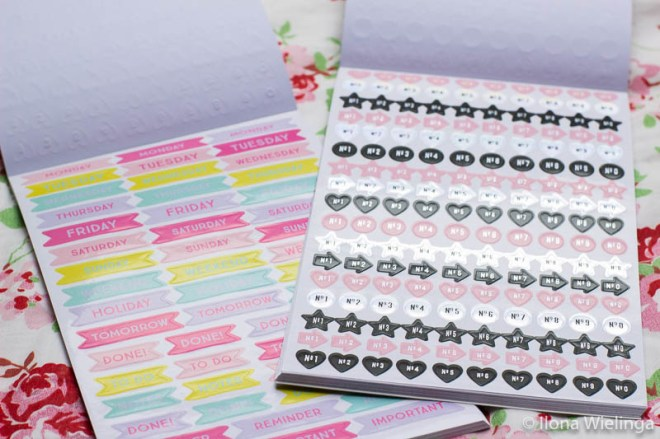 stickers bullet journal action stickerboekjes 3