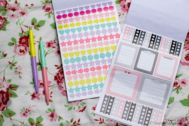 stickers bullet journal action stickerboekjes 5