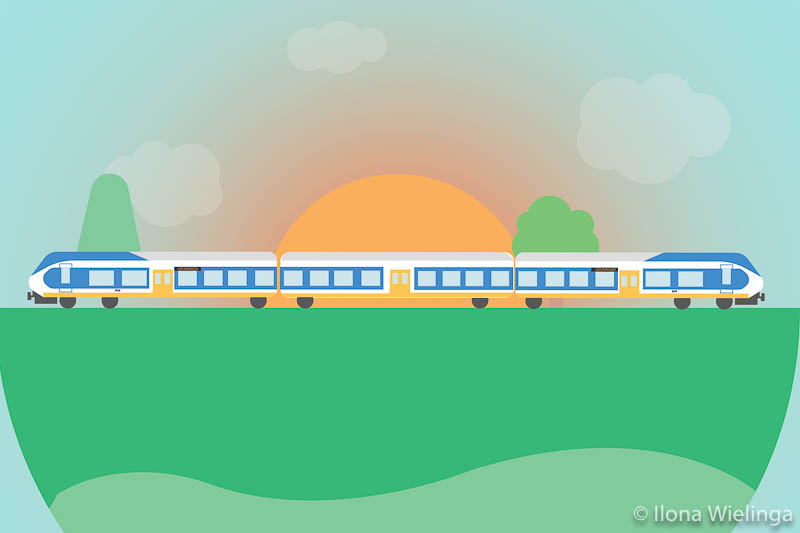 trein-1 illustratie ns