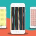 Gratis achtergronden voor je telefoon | Streepjes en meer