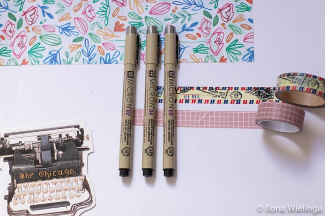 kerstcadeau's voor creatievelingen flow book stickers fineliners macron washi tape 3