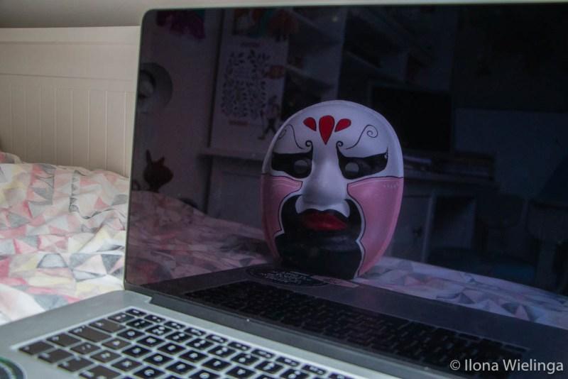 anoniem achter je scherm 3 reflectie masker