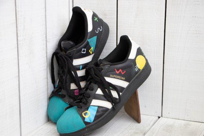 beschilderde Adidas